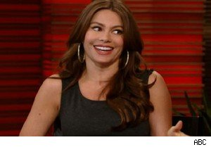 Sofia Vergara of 'Modern Family' on 'Live With Regis and Kelly'
