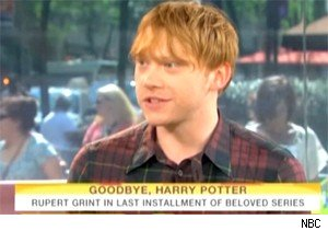 Rupert Grint talks about 'Harry Potter and the Deathly Hallows - Part 2' on 'Today