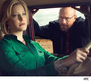 Skyler and Walt Breaking Bad
