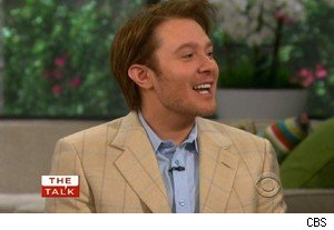 Clay Aiken says his son doesn't like ot hear him sing on 'The Talk'