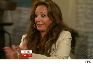 Leah Remini talks male birth control on 'The Talk'