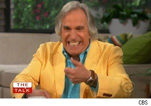 Henry Winkler talks about Tweeting on 'The Talk'