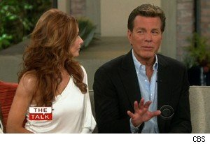 Tracey Bregman and Peter Bergman from 'The Young and the Restless' on 'The Talk'