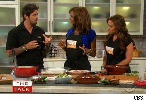 Ludo Lefebvre, Holly Robinson Peete, and Leah Remini on 'The Talk'