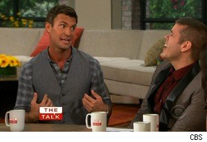Jeff Lewis and Perez Hilton on 'The Talk'