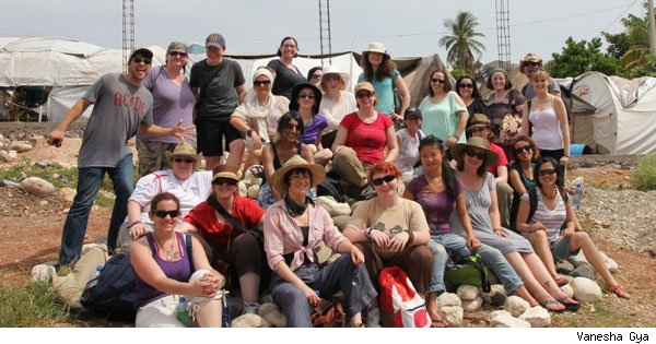 The Random Acts team in Haiti