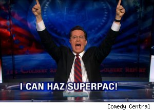 Colbert Super PAC, 'The Colbert Report'