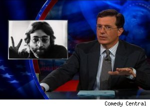 John Lennon, 'The Colbert Report'