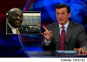 Herman Cain, 'The Colbert Report'