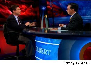Naftali Bendavid, 'The Colbert Report'