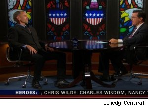 David Carr, 'The Colbert Report'