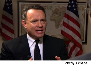 Tom Hanks, 'The Daily Show with Jon Stewart'