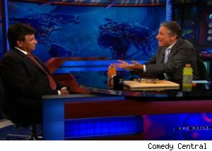 Pervez Musharraf, 'The Daily Show with Jon Stewart'
