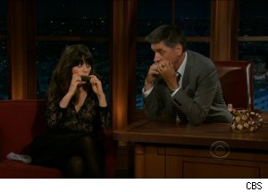 Zooey Deschanel, 'The Late Late Show with Craig Ferguson'