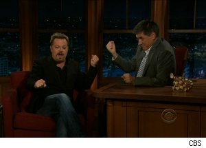 Eddie Izzard, 'The Late Late Show with Craig Ferguson'