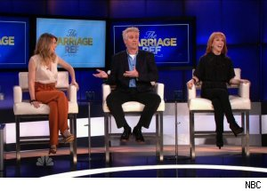 Ellen Pompeo, Brian Regan &amp; Kathy Griffin, 'The Marriage Ref'