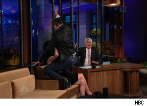 Rose Byrne & Craig Ferguson, 'The Tonight Show with Jay Leno'