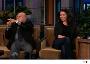 Don Rickles &amp; Bristol Palin, 'The Tonight Show with Jay Leno'