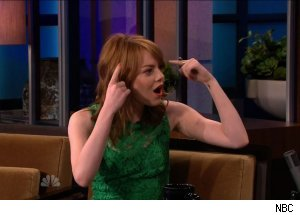 Emma Stone, 'The Tonight Show with Jay Leno'