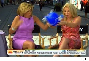 Kathie Lee Gifford spills beer on 'Today'