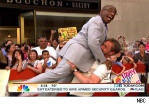 Al Roker and Ryan Gosling showing off their 'Dirty Dancing' moves on 'Today'