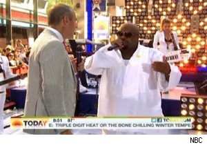 Matt Lauer talks to Cee Lo Green about Las Vegas on 'Today'