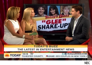 Rob Shuter talks 'Glee' on 'Today'