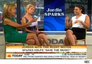 Hoda Kotb, Kathie Lee Gifford, and Jordin Sparks on 'Today'