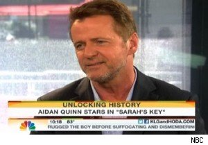 Aidan Quinn taks about 'Prime Suspect' on 'Today'