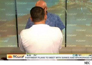 Joe Tersi blocks Al Roker's view of some bowls on 'Today'