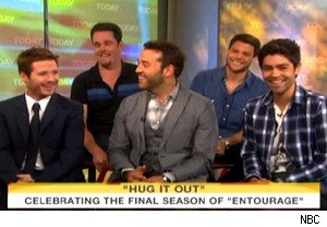 The cast of 'Entourage' talks about the final season on 'Today'