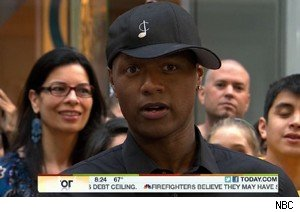 Javier Colon, winner of 'The Voice,' on 'Today'