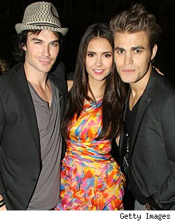 Ian Somerhalder, Nina Dobrev, Paul Wesley