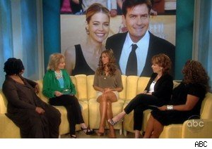 Denise Richards talks about Charlie Sheen on 'The View'