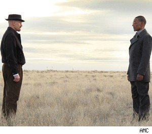 Walt and Gus Breaking Bad