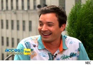 Jimmy Fallon talks about 'Late Night's' three Emmy nominations on 'Access Hollywood Live'