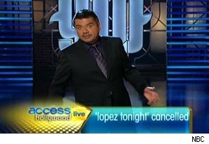 George Lopez and 'Lopez Tonight' not renewed on 'Access Hollywood Live'