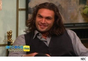 Jason Momoa, aka Khal Drogo on 'Game of Thrones' and 'Conan the Barbarian,' on 'Access Hollywood Live'