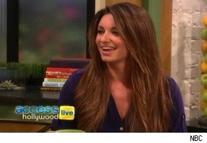 Bianca Kajlich of 'Rules of Engagement' talks about her topless '30 Minutes or Less' scene on 'Access Hollywood Live'