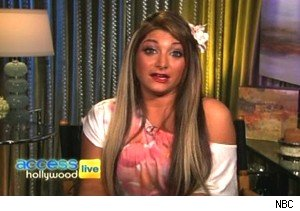 Deena Cortese of 'Jersey Shore' talking about making out with a woman on 'Access Hollywood Live'