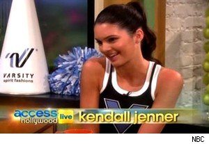 Kendall Jenner on 'Access Hollywood Live'