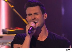 Adam Levin & Maroon 5, 'America's Got Talent'