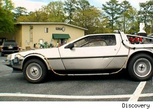 DeLorean on Auction Kings