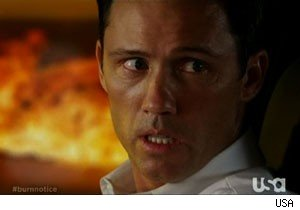 Michael goes psycho on 'Burn Notice'