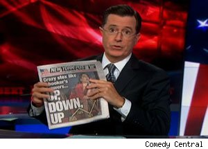 Colbert Report New York Post