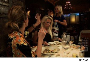 A catty dinner on 'Most Eligible Dallas'