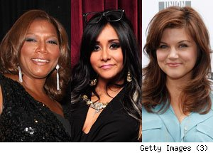 Queen Latifah, Snooki, Tiffani Thiessen, Dancing With the Stars