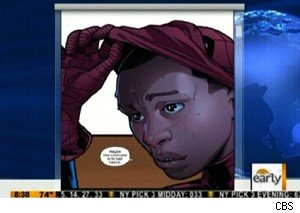 Axel Alonso talks about Miles Morales, the new Spider-man, on 'The Early Show'