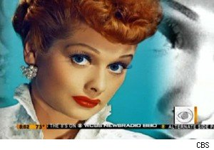 Lucille Ball on 'The Early Show'