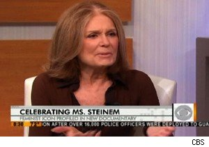 Gloria Steinem talks about her HBO special 'Gloria: In Her Own Words' on 'The Early Show'